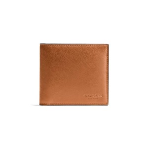 COACH - F75084 DOUBLE BILLFOLD WALLET IN CALF LEATHER - SAD