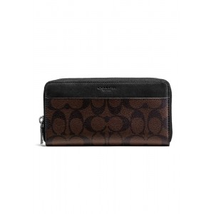 กระเป๋าสตางค์ COACH F58112 ACCORDION WALLET IN SIGNATURE (MABR)