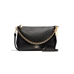 กระเป๋า COACH F22212 CARRIE CROSSBODY  (IMBLK)