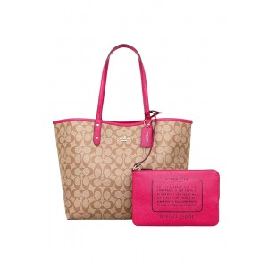 กระเป๋า COACH 25033E REVERSIBLE CITY TOTE IN SIGNATURE (IMDCD)