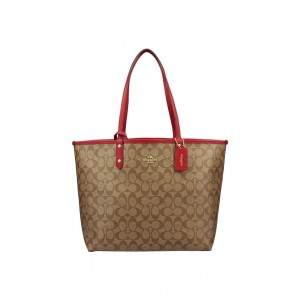 กระเป๋า COACH 25033E REVERSIBLE CITY TOTE IN SIGNATURE (IMDQ4)