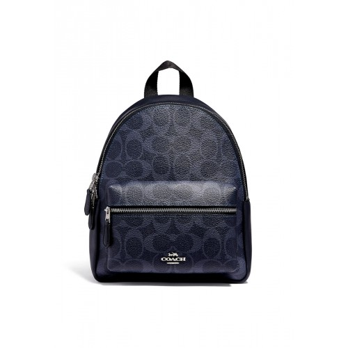 กระเป๋า COACH F29719 MINI CHARLIE BACKPACK IN SIGNATURE CANVAS (SVM2Q)
