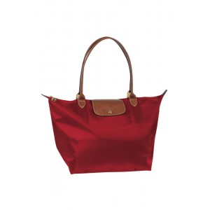Longchamp  กระเป๋า  Le Pliage Large tote bag - Rouge