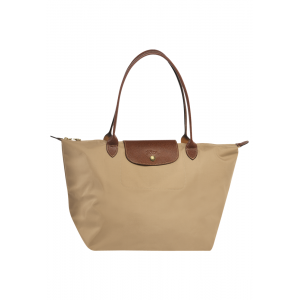 กระเป๋า Longchamp Le Pliage Large tote bag - Beige moye
