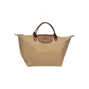 กระเป๋า Longchamp Le Pliage Medium handbag - Beige moye