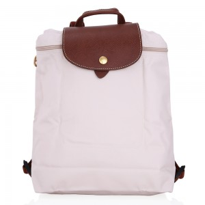 กระเป๋า Longchamp Le Pliage Backpack - Ivoire