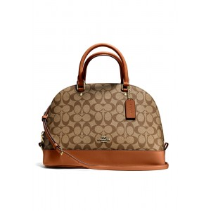 Coach  กระเป๋า  F37233 SIERRA SATCHEL IN SIGNATURE