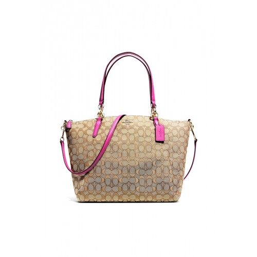 """กระเป๋า COACH F36722 KELSEY SATCHEL IN SIGNATURE (IMEYS)  """