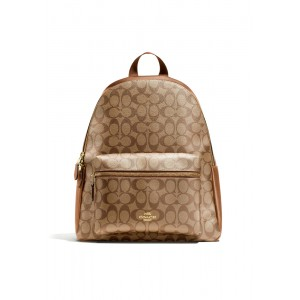 """กระเป๋า COACH F58314 CHARLIE BACKPACK IN SIGNATURE (IMBDX)   """