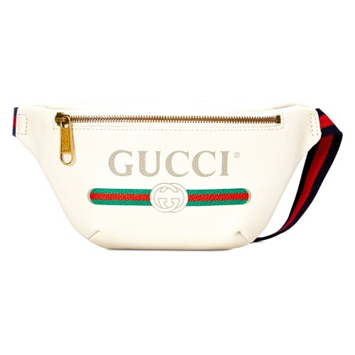 กระเป๋า GUCCI PRINT SMALL BELT BAG 90