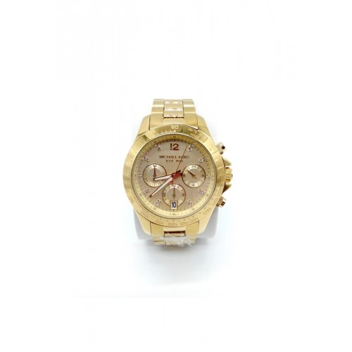 นาฬิกา Michael MK5531 Layton Ladies Gold Tone Women's Chronograph Watch