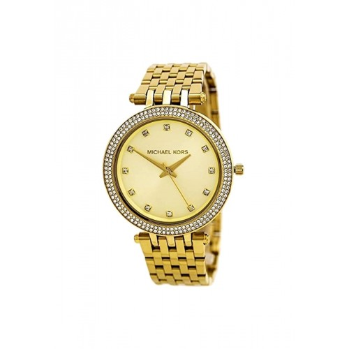 นาฬิกา Michael MK3216 Darci Gold-Tone Glitz Dial Watch