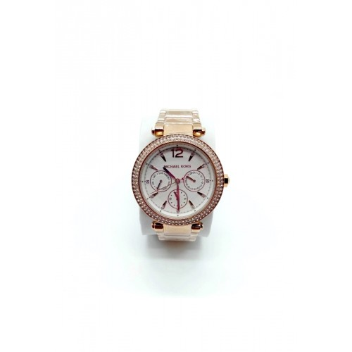 นาฬิกา Michael MK5781 Parker Chronograph Rose Gold-Tone Ladies Watch