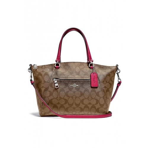 กระเป๋า COACH F79998 PRAIRIE SATCHEL IN SIGNATURE CANVAS (SVPK1)